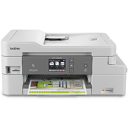Brother Compact Color Inkjet All-in-One MFCJ995DW, Copy/Fax/Print/Scan