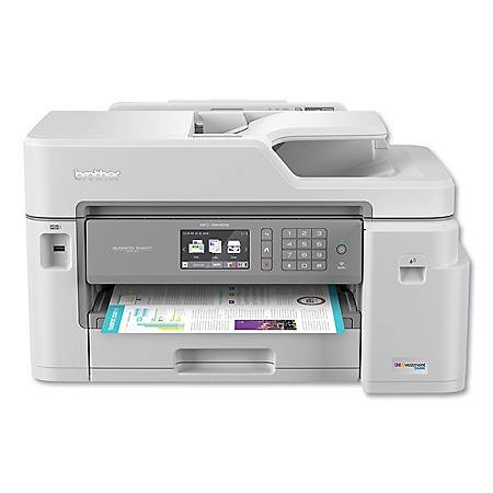 Brother BRTMFCJ5845DW All-In-One Inkjet, Copy/Fax/Print/Scan