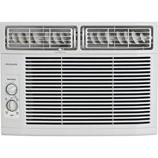 10,000 BTU 115V Window-Mounted Mini-Compact Air Conditioner with Mechanical Controls-White