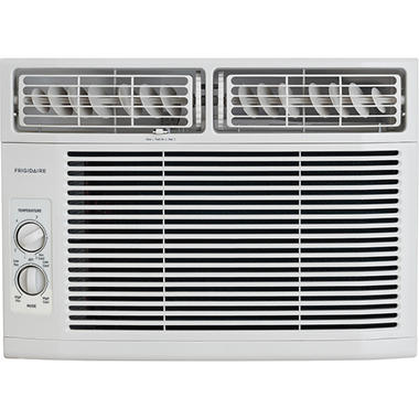 sam s club window air conditioner temperature sensing 10000 btu 115v windowmounted minicompact air conditioner with mechanical controlswhite