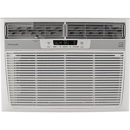 Frigidaire 15,100 BTU 115V Window-Mounted Median Air Conditioner with Remote Control