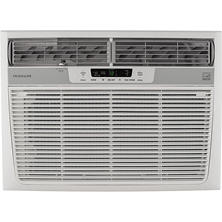 18,000 BTU 230V Window-Mounted Median Air Conditioner with Temperature Sensing Remote Control