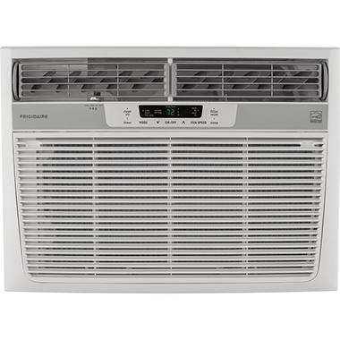 22,000 BTU 230V Window-Mounted Heavy-Duty Air Conditioner with Temperature Sensing Remote Control
