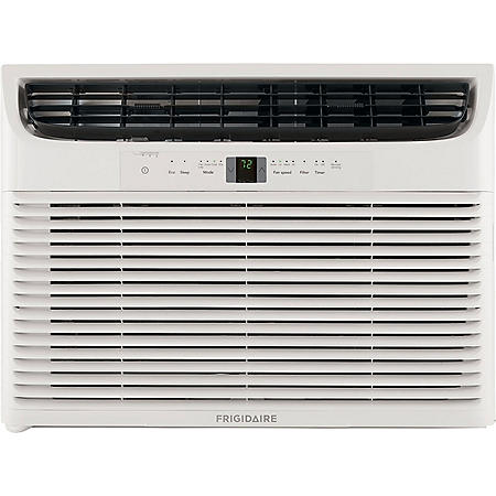 Frigidaire 28,000 BTU 230V Window-Mounted Heavy-Duty Air Conditioner with Temperature Sensing Remote Control