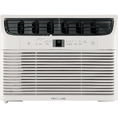 Frigidaire Energy Star 10,000 BTU 115V Window-Mounted Compact Air Conditioner with Full-Function Remote Control
