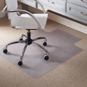 Es Robbins 36 X 48 Task Series Anchorbar Lip Chair Mat