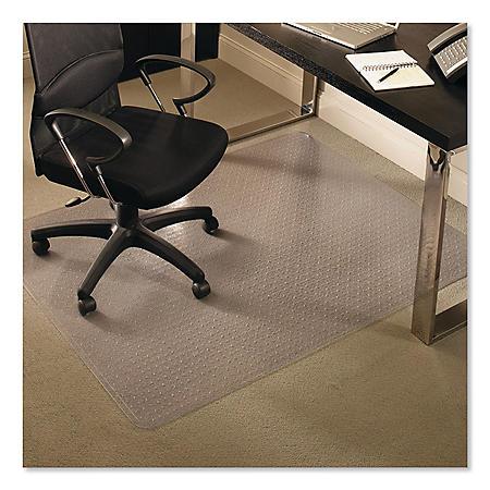 """ES Robbins 46"""" x 60"""" AnchorBar  High Pile Rectangular Chairmat"""