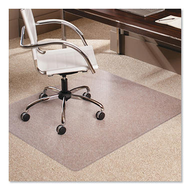 chair office for high workstation everlife carpet mat plastic pile reviews under es robbins mats