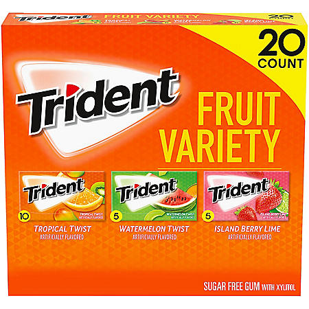 Trident Fruit Variety Pack (14 ct., 20 pks.)