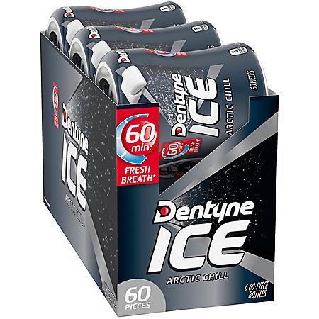 Dentyne Ice Arctic Chill Gum (60 ct., 6 pk.)