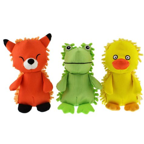 Hyper Pet Plush Dog Toy Play Pack (Choose Your Size)