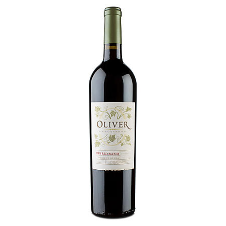 Oliver Winery Dry Red Blend Wine (750 mL)
