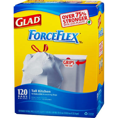 Glad Force Flex Trash Bags