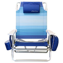 Beach Chair-Blue Ombre