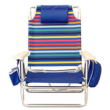 Rainbow Stripe Beach Chair