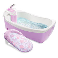 Summer Infant Lil' Luxuries Whirlpool, Bubbling Spa & Shower - Girl