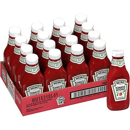 Heinz Tomato Ketchup (14 oz., 16 pk.)