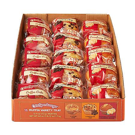 Otis Spunkmeyer Seasonal Muffins (4oz / 15pk)
