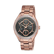 Citizen Eco-Drive Women's Riva Two-Tone with Diamonds Watch