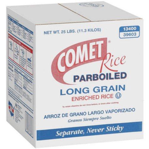 Comet Rice Parboiled Long Grain (25 lb.)