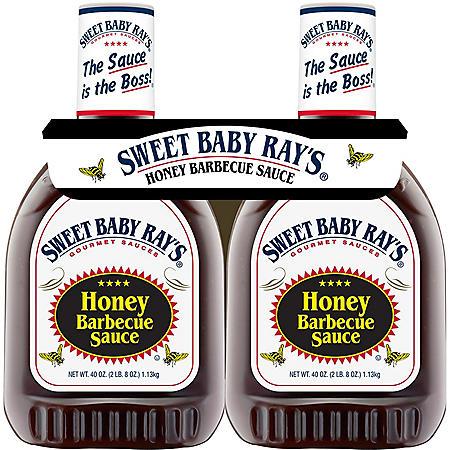 Sweet Baby Ray's Honey Barbecue Sauce (40 oz., 2 pk.)
