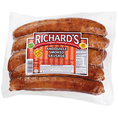 Richard's Andouille Smoked Sausage (3 lbs.)