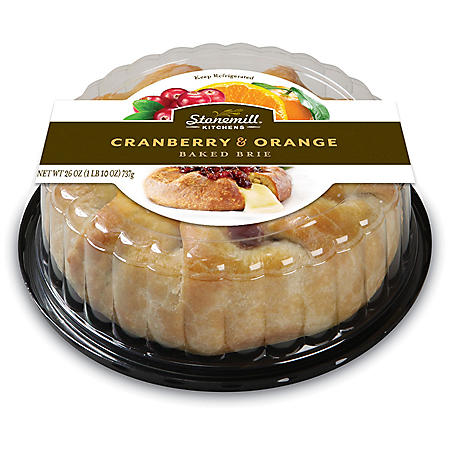Stonemill Kitchens Cranberry and Orange Baked Brie (26 oz.)