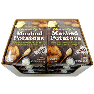Home style mashed potatoes.