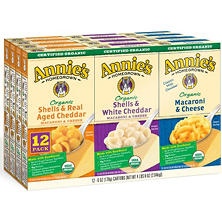 Annie's Organic Mac and Cheese Variety Pack (12 ct.)