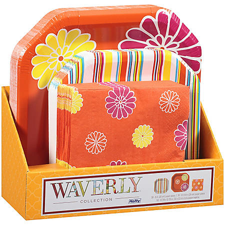 Hefty® Waverly™ Collection Paper Plates & Napkins