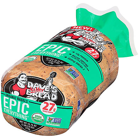 Dave's Killer Bread Epic Everything Bagels (5 ct.)