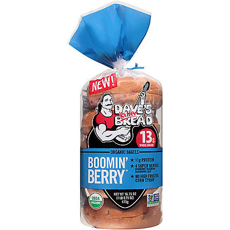 Dave's Killer Bread Boomin' Berry Bagels (5 ct.)