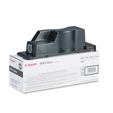 Canon GPR-6 Toner Cartridge, Black (15,000 Yield)