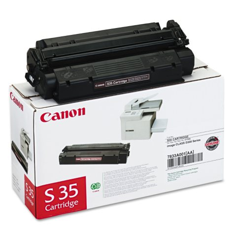 Canon S35 Toner Cartridge, Black (3,500 Page Yield)
