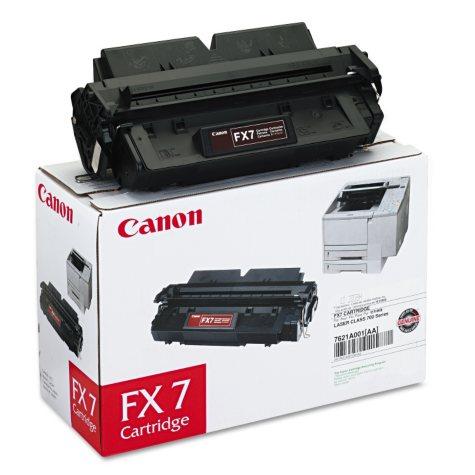 Canon FX7 Toner Cartridge, Black (4,500 Yield)