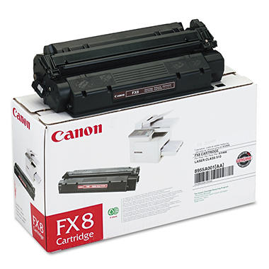Canon FX8 Toner Cartridge, Black (3,500 Yield)