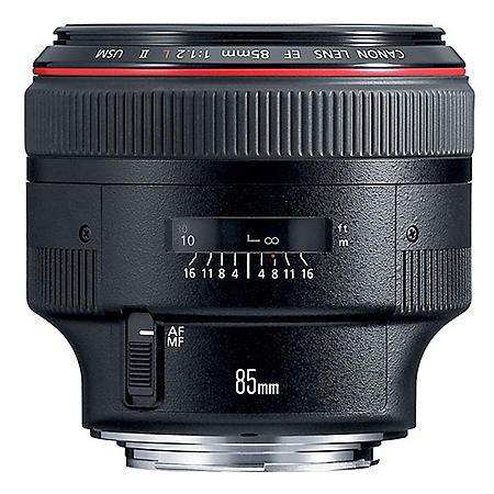 Canon EF 85mm f/1.2 II SUM Telephoto Lens