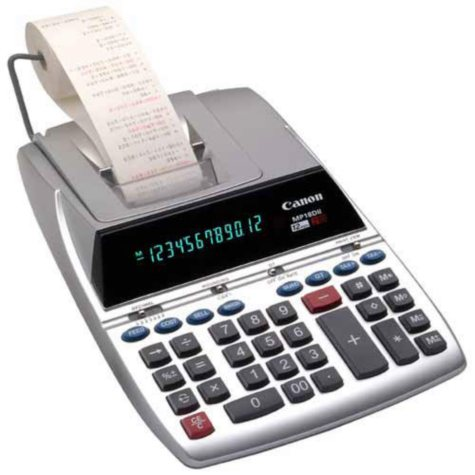Canon MP18D II Printing Calculator