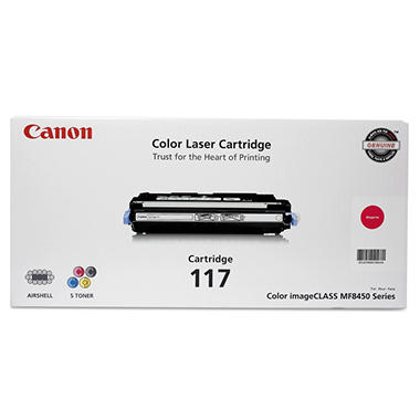 Canon 117 Toner Cartridge, Magenta (4,000 Page Yield)