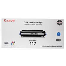 Canon 117 Toner Cartidge, Cyan(4,000 Page-Yield)