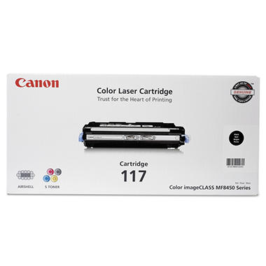 Canon 117 Toner Cartridge, Black(6,000 Page-Yield)
