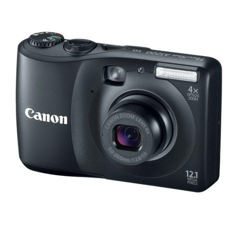 Canon A1200 12.1MP Digital Camera - Black