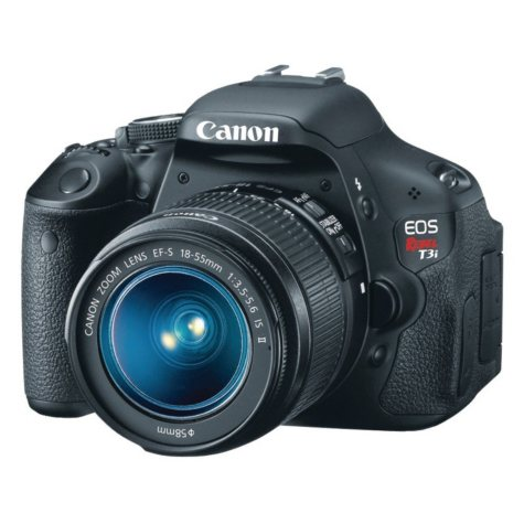Canon T3i 18.0MP Digital SLR Camera with 18-55mm IS Lens