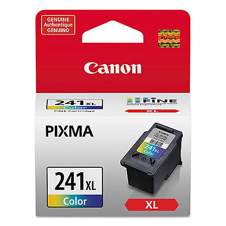 Canon CL-241XL High Yield Ink Tank Cartridge, Tri-Color