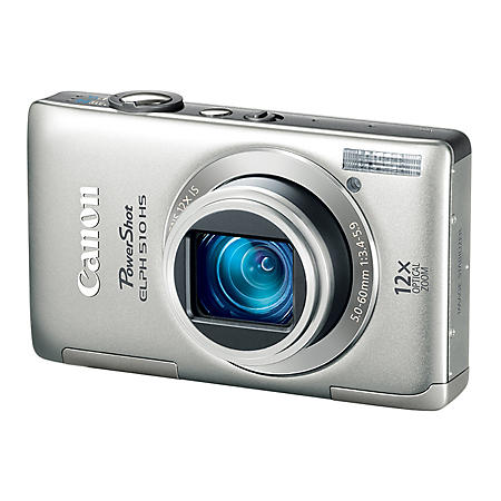 Canon ELPH 510 12.1MP Digital Camera - Silver