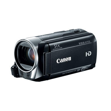 Canon HF R30 Full HD Camcorder with 32x Optical Zoom and 8GB Internal Memory