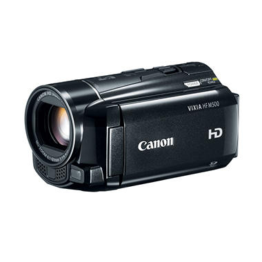 Canon HF M500 Full HD Camcorder with 10x Optical Zoom