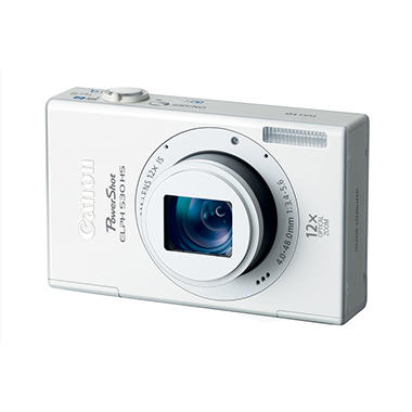 Canon ELPH 530 HS 10.1MP Digital Camera with Wifi - White