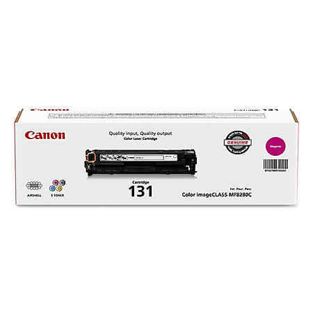 Canon CRG-131 Toner Cartridge, Magenta(1,500 Page-Yield)