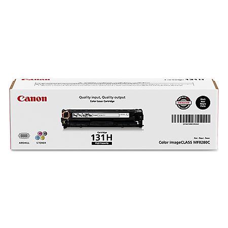 Canon CRG-131 Toner Cartridge, Black(2,400 High Yield)